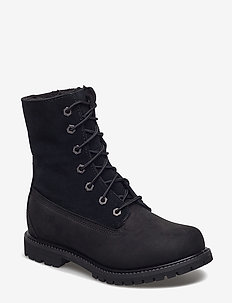 Authentics Teddy Fleece W - flat ankle boots - black