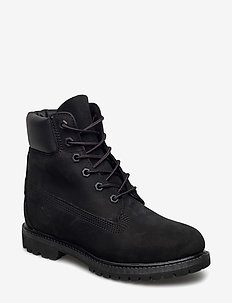 6in Premium Boot - W - platta ankelboots - black
