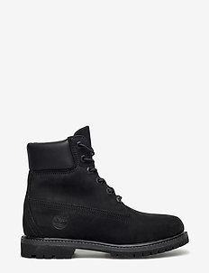 6in Premium Boot - W - niski obcas - black