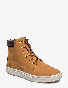 LONDYN 6IN - flat ankle boots - wheat nubuck