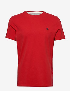 SS Dun-River Crew T - logo t-shirts - barbados cherry
