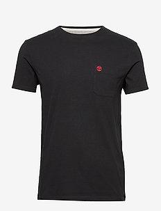 SS Dun-Riv Pocket T - logo t-shirts - black