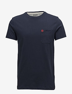 SS Dun-Riv Pocket T - logo t-shirts - dark sapphire