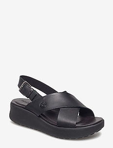 Los Angeles Wind Slingback - flade sandaler - jet black