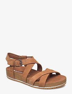 Malibu Waves Ankle - flade sandaler - saddle