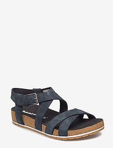 Malibu Waves Ankle - flat sandals - jet black