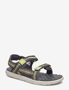 Perkins Row Webbing Sandal - BRINDLE