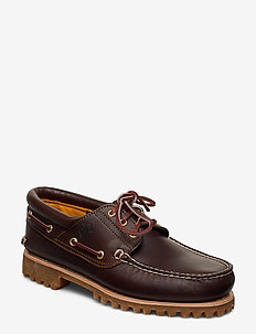 Authentics 3 Eye Classic Lug - bootsschuhe - brown