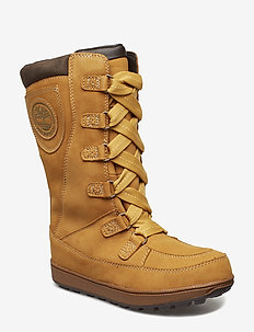 8 In Lace Up WP - WHEAT