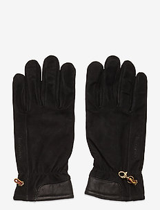 Nubuck Glove W Touch Tips - handskar - black