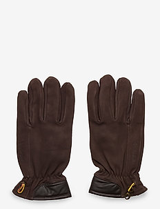 Nubuck Glove W Touch Tips - handskar - brown
