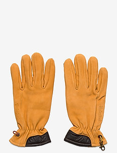 Nubuck Glove W Touch Tips - handskar - wheat