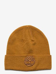 Tonal 3D Embroidery Beanie - czapka - wheat