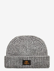 Shallow Rib Beanie MED GRY HEATHER - mutsen - medium grey heather