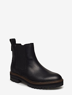 London Square Double Gore Chelsea - chelsea boots - jet black