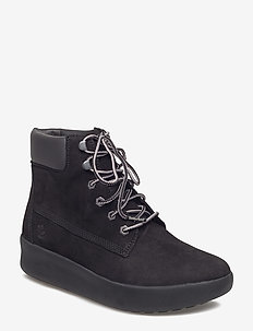 BERLIN PARK 6 INCH - flat ankle boots - black