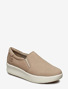 Berlin Park Slip On - slip-on sneakers - simply taupe