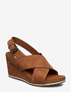 Capri Sunset X-Band Sandal - kilehæl - saddle