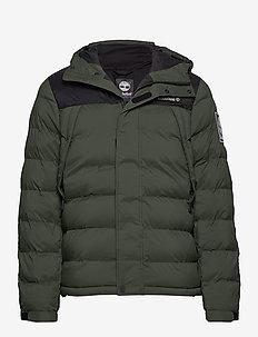 Outdoor Archive Puffer Jacket - DUFFEL BAG/BLACK