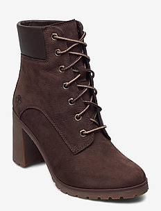 Allington 6in Lace Up - ankelboots med klack - coffee bean