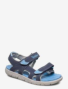 Perkins Row 2-Strap - sandals - vintage indigo