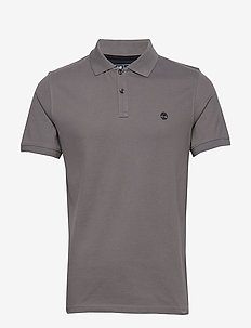 SS MR Jacquard P - short-sleeved polos - castlerock