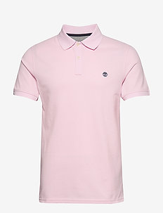SS MR Jacquard P - short-sleeved polos - light lilac