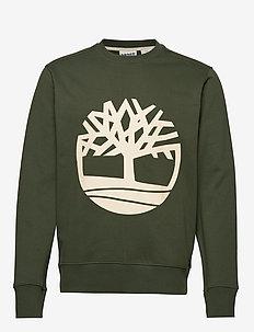 Core Tree Logo Crew Sweat (Brushback) - DUFFEL BAG