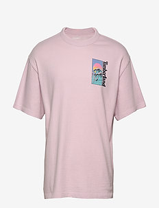 SS Beach Graphic T - short-sleeved t-shirts - light lilac
