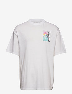 SS Beach Graphic T - short-sleeved t-shirts - white