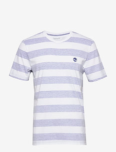 SS Melange Stripe T - short-sleeved t-shirts - surf the web
