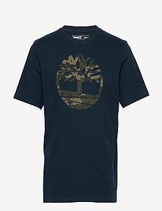 SS K-R Camo Tree T - logo t-shirts - dark sapphire