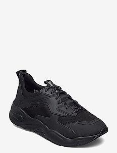 Delphiville Textile Sneaker - lage sneakers - black