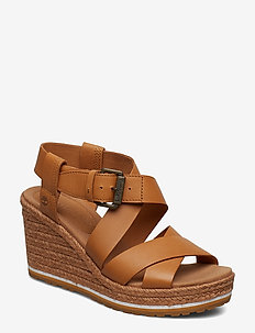 Nice Coast Ankle Strap - BISCUIT
