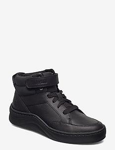 RUBY ANN CHUKKA BLK - sneakers med høy ankel - black