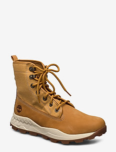 BROOKLYN L/F PT BT WHEAT - laced boots - wheat