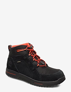 City Stomp Bungee Mid GTX - JET BLACK
