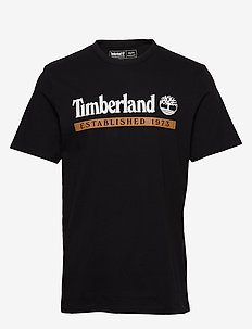 SS Estab 1973 T - short-sleeved t-shirts - black/wheat boot