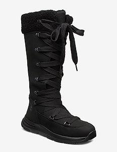Mabel Town WP Tall Mukluk - long boots - jet black