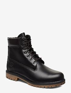 6 Inch Heritage Boot - JET BLACK