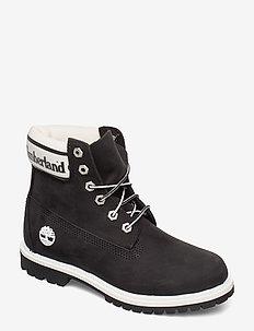 6in Premium Boot L/F- W - BLACK