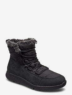BOLTERO WINTER BT BLK - flade ankelstøvler - black