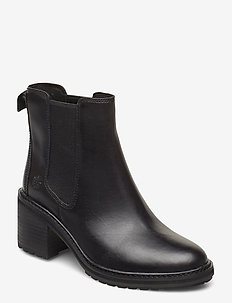 Sienna High Chelsea - heeled ankle boots - jet black
