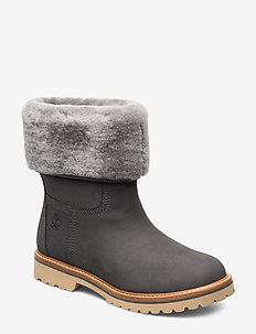 Chamonix Valley WP F/D - flat ankle boots - gargoyle