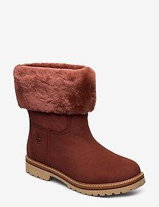 Chamonix Valley WP F/D - flat ankle boots - smoked paprika