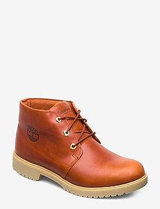TBL 1973 Newman Chukka WP - laced boots - inca gold