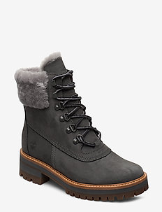 Courmayeur Valley WP 6in - flat ankle boots - gargoyle
