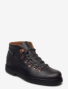 SQUALLCANYON WP HKR DKBRN - veter schoenen - black coffee