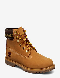 6in Premium Boot L/F- W - flat ankle boots - wheat