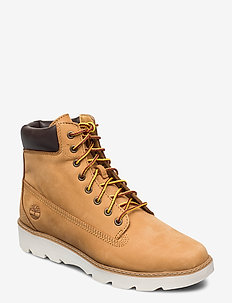 Keeley Field 6in - flat ankle boots - wheat